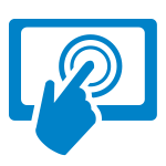 Interactive Homepage Icon